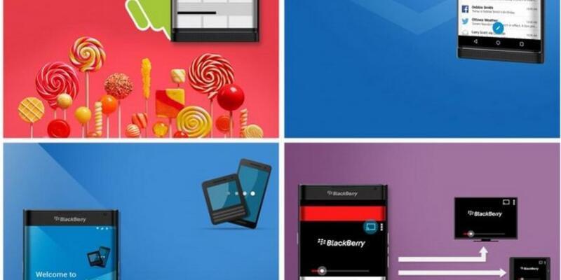 Android işletim sistemli BlackBerry modeller hazır