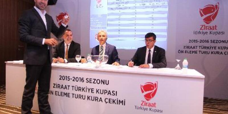 Ziraat Türkiye Kupası kurası çekildi