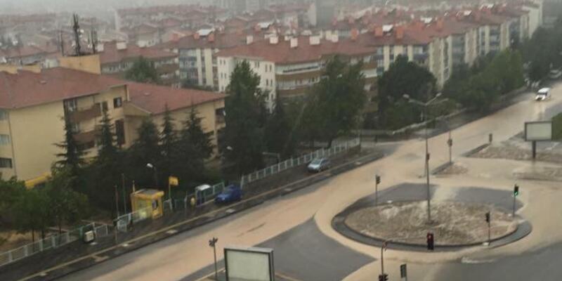 Ankara'yı sel bastı!