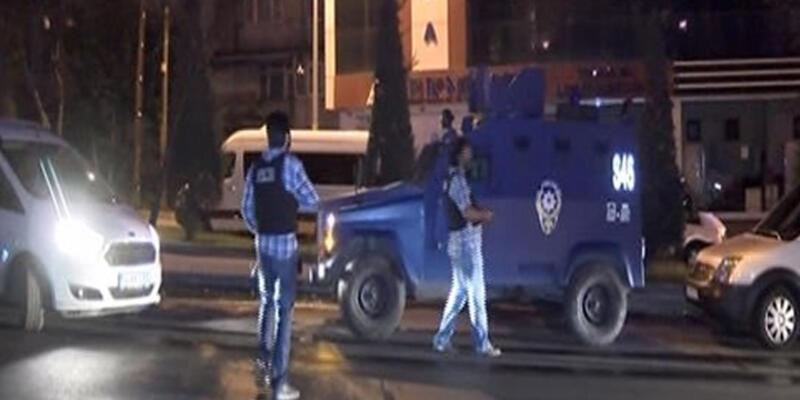 Mahmutbey gişelerinde silah sesleri