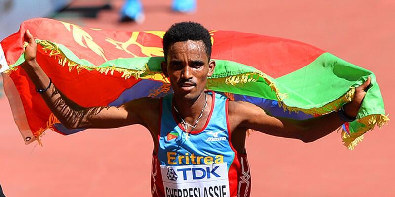 Dünya Atletizm Şampiyonası'nda ilk altın Eritre'ye