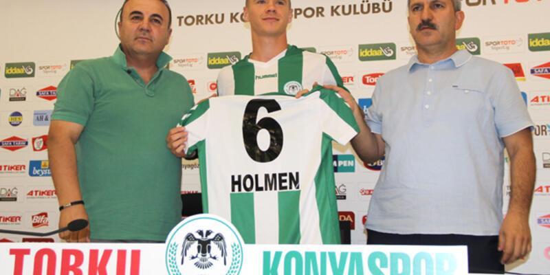 Holmen, Konyaspor'a imza attı