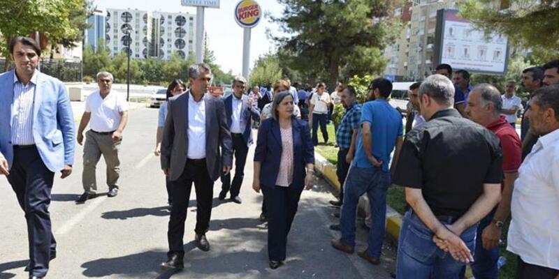Diyarbakır'da özyönetim açıklaması yapan belediye başkanları adliyede