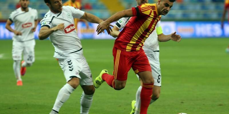 Kayserispor - Torku Konyaspor: 1-1