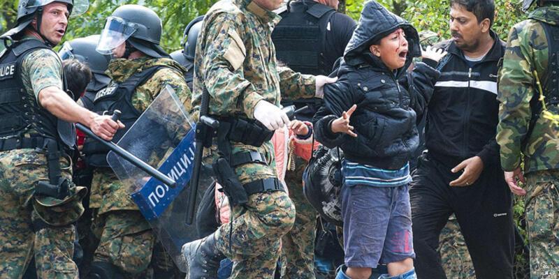 Makedonya'da göçmen krizi sona erdi