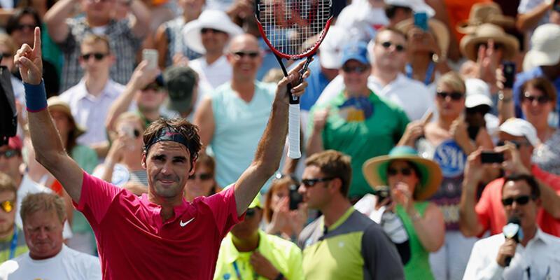 Federer 7'de 7 yaptı