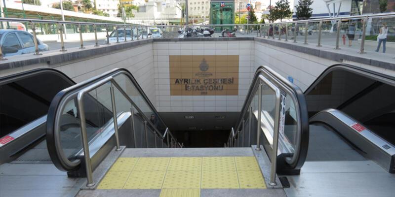 Ayrılıkçeşme metro istasyonunda bomba alarmı