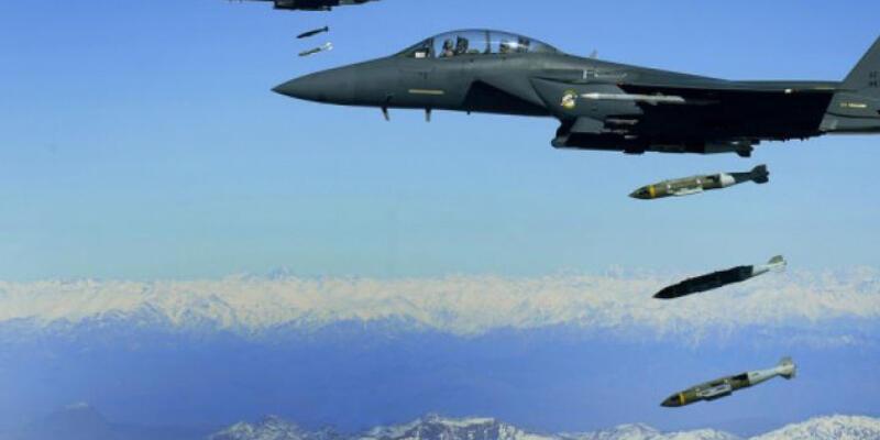"""ABD: """"57 IŞİD hedefi vuruldu"""""""
