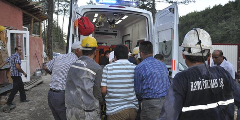 Bursa'daki krom madeninde göçük: 1 işçi öldü, 1 işçi ağır yaralı