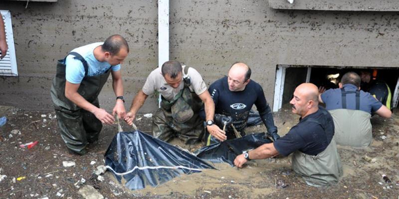 Samsun'da 13 kişinin öldüğü sel soruşturmasında takipsizlik