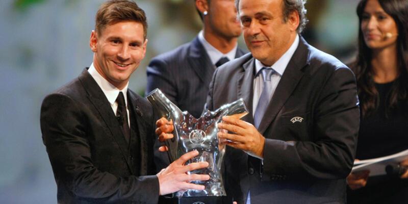 Messi Avrupa'da yılın futbolcusu seçildi