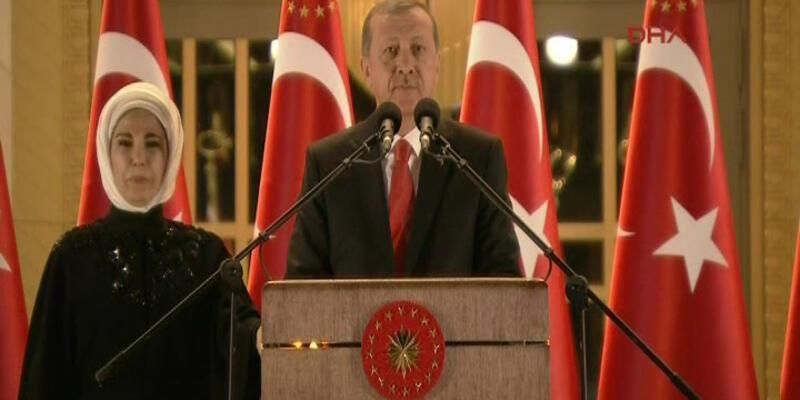 Cumhurbaşkanı Erdoğan'dan 30 Ağustos resepsiyonunda büyük sürpriz