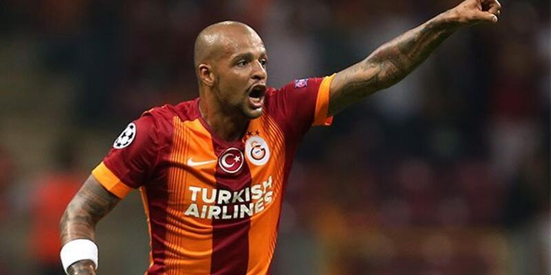 Felipe Melo Galatasaray'a o kareyle veda etti