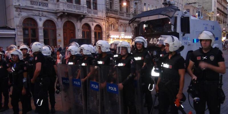 Taksim esnafına 1 Mayıs şoku