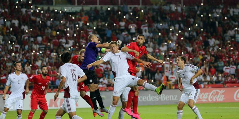 A Grubu: Türkiye - Letonya: 1-1