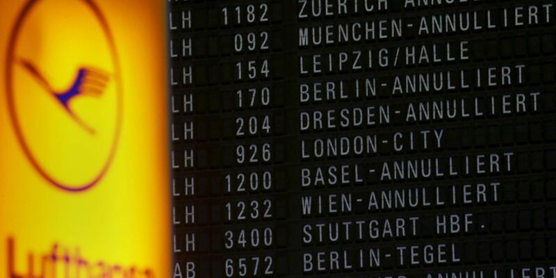 Lufthansa pilotlarının grevinden Türkiye de etkilendi