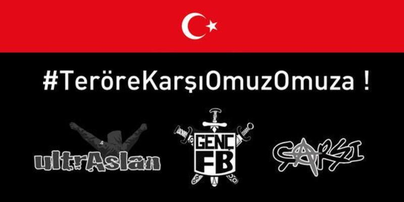 Çarşı, UltrAslan ve Genç Fenerbahçeliler'den ortak tepki