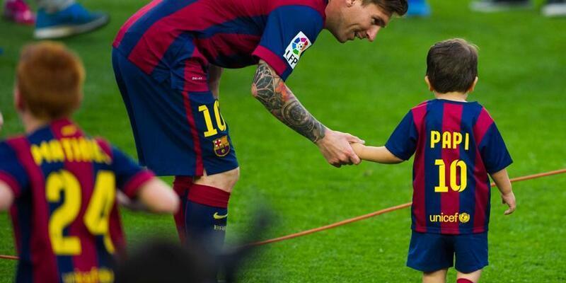 Messi'nin bir oğlu daha oldu