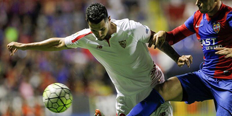 Sevilla galibiyete hasret kaldı