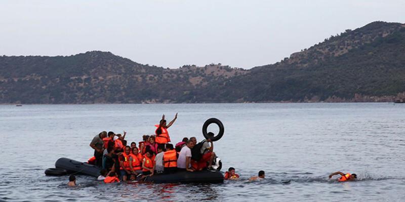 Ege'de yine facia: 4'ü çocuk 5 göçmen kayıp
