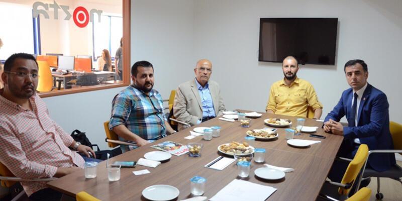 CHP'li vekiller Nokta Dergisi'ni ziyaret etti