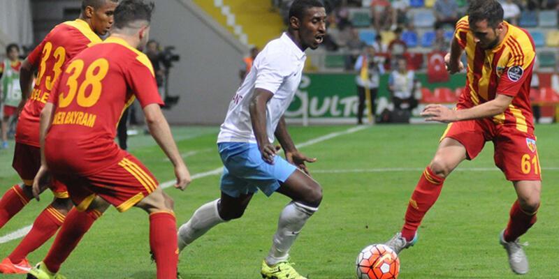 Trabzonspor Cardozo ile 3 puanı kaptı