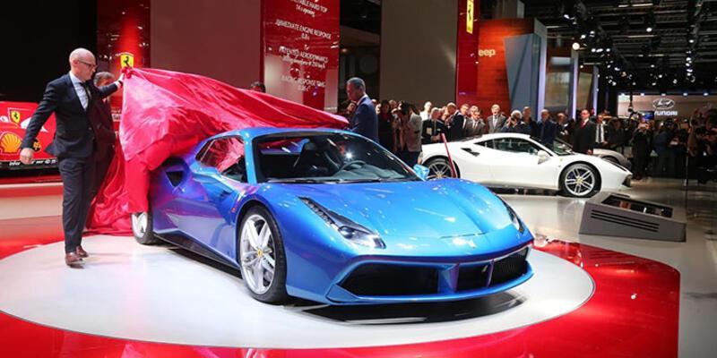 Ferrari'den Frankfurt'a özel