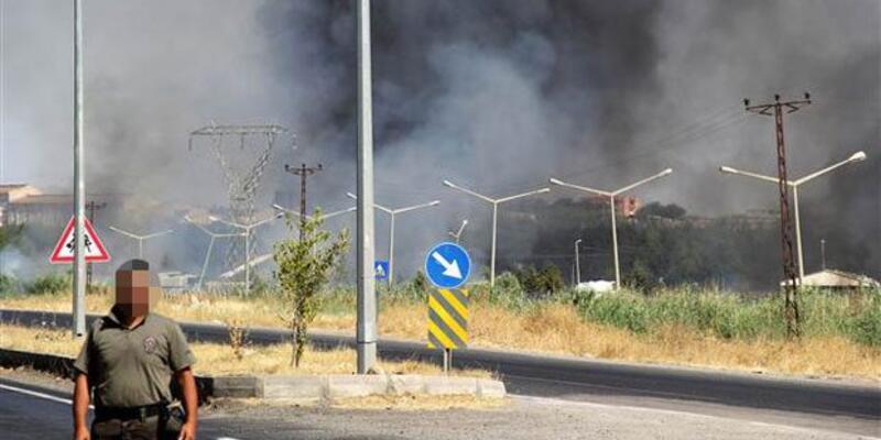 Diyarbakır'da özel harekat şubesinin mühimmat deposunda patlama