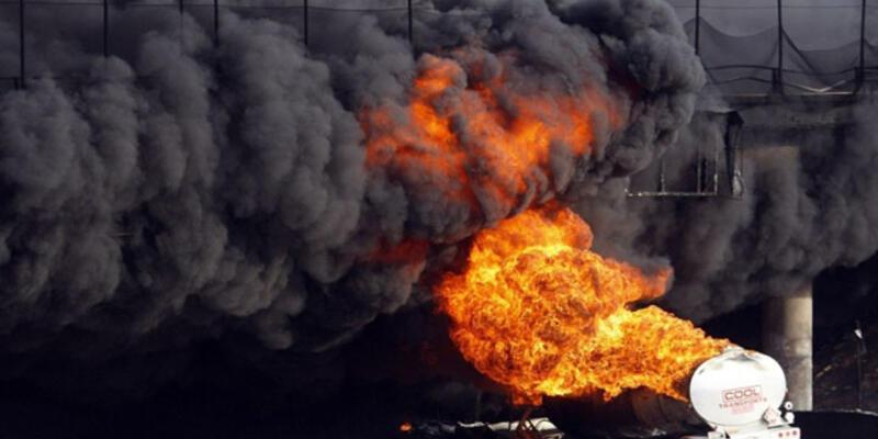 Güney Sudan'da petrol tankeri patladı