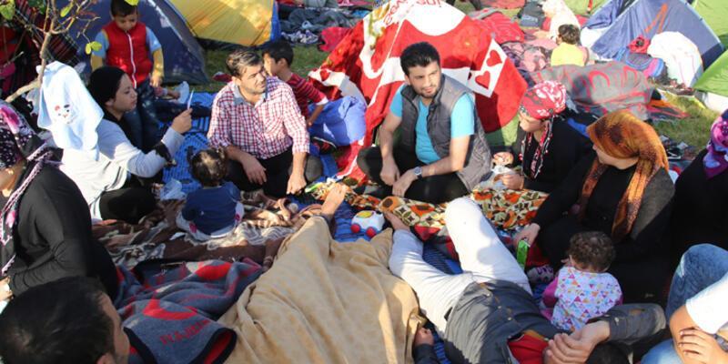 Sığınmacıların Edirne'de 4. günü