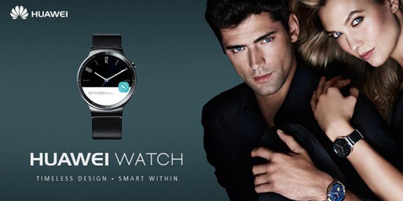 Huawei Watch ön siparişe çıktı