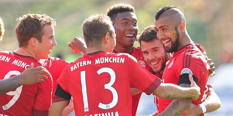 Bayern Münih ligin yeni ekibini rahat geçti