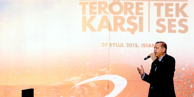 Cumhurbaşkanı Erdoğan'dan 1 Kasım çağrısı