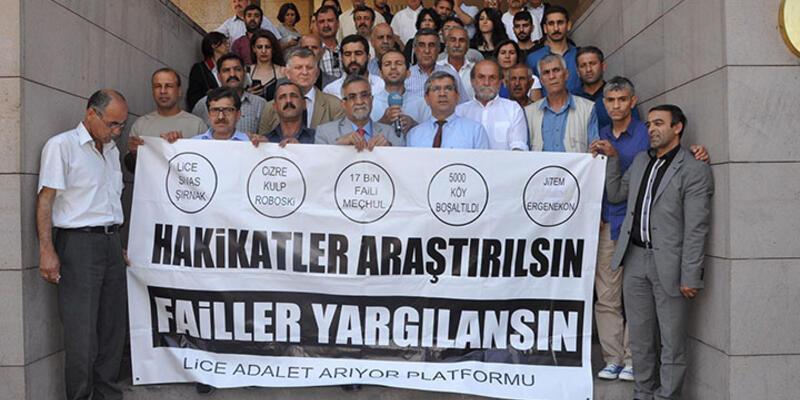Lice davasında emekli albay Hatipoğlu ifade verdi