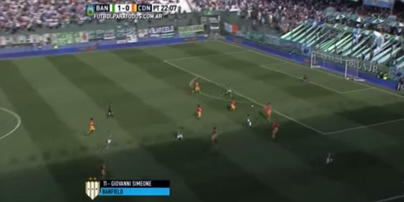 Diego Simeone'nin oğlundan tiki taka golü