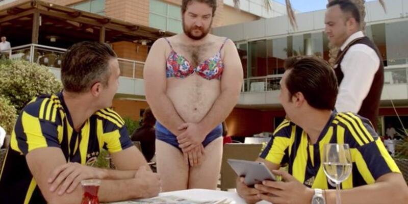 Fenerbahçe'nin olay reklamı: Bikini yaz Robben gelsin
