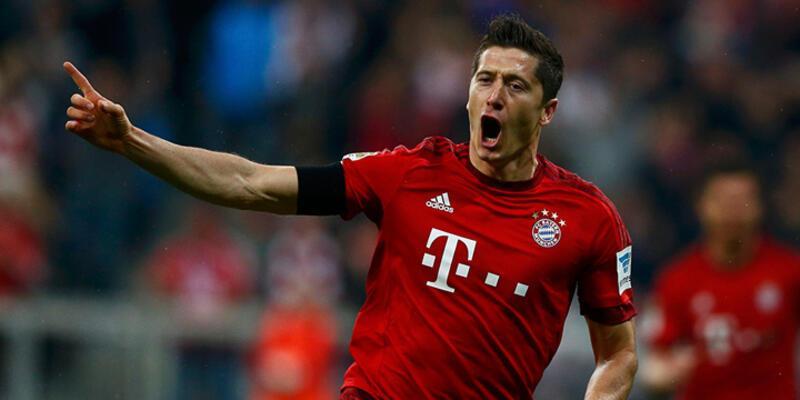 Robert Lewandowski'den 9 dakikada 5 gol!
