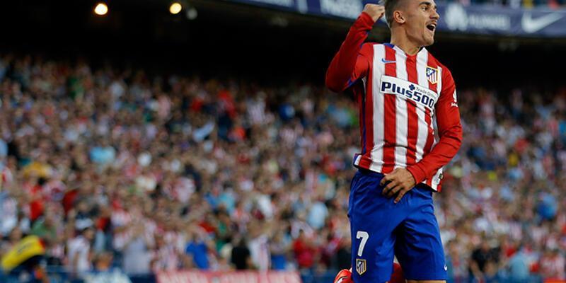 Atletico Madrid'in Griezmann'ı var: 2-0