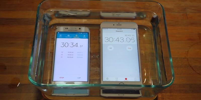 iPhone 6s Plus ile su testi
