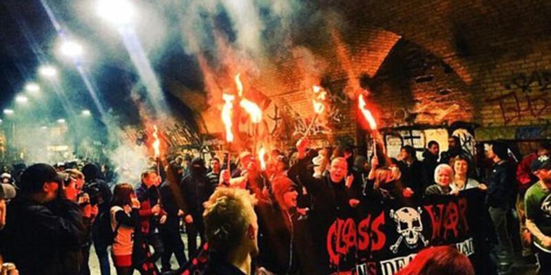 Antikapitalistler Londra'da ayaklandı!