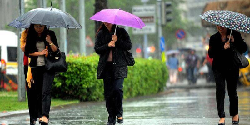 Meteorolojiden yağmur ve fırtına uyarısı