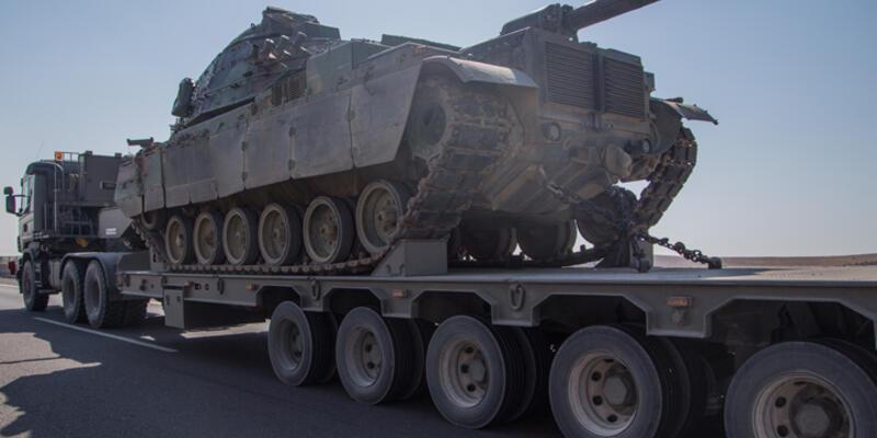 Diyarbakır'a tank ve zırhlı araç sevkiyatı