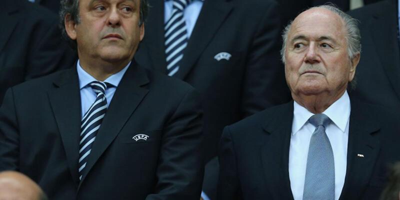 Platini ve Blatter askıya alınıyor