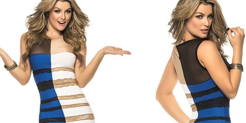 İnternetin olay elbisesi resmen satışta!