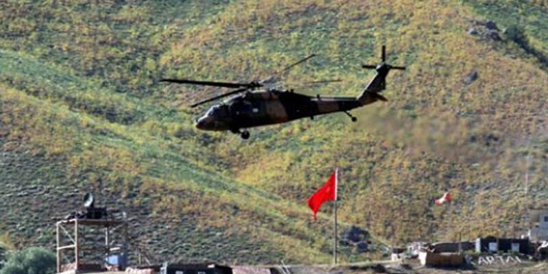 Yüksekova'da çatışma! PKK hedefleri vuruldu