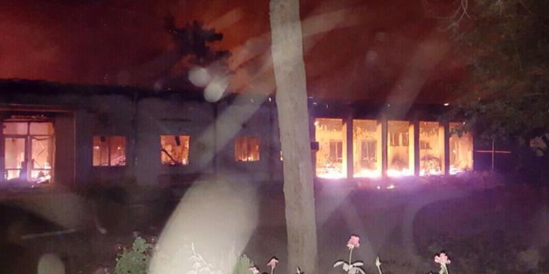 ABD, Afganistan'da hastaneyi vurdu: 3 ölü!