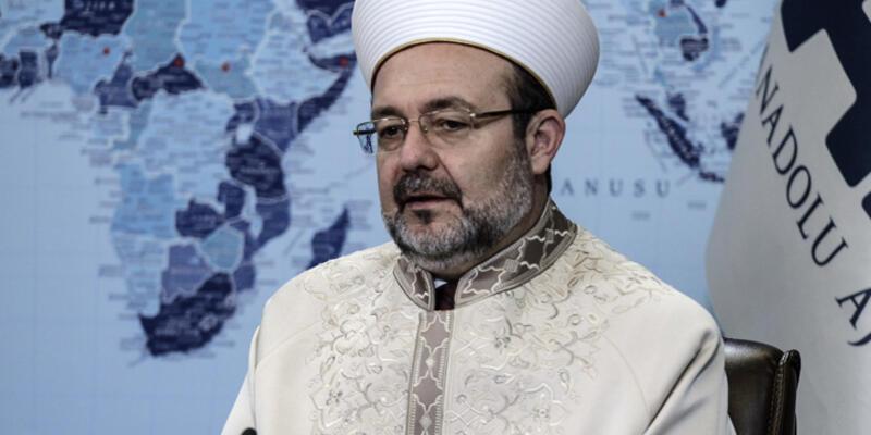 Diyanet İşleri Başkanı Şırnak'taki görüntüyle ilgili konuştu