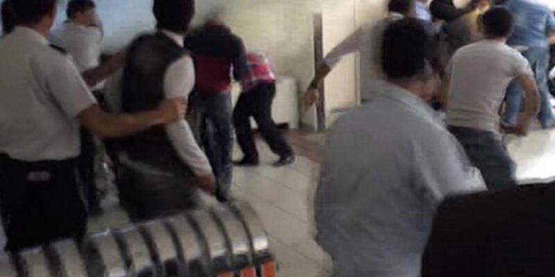 Bakırköy Adliyesi'nde duruşma öncesi kavga!