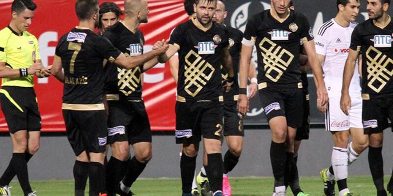 Beşiktaş Osmanlıspor ile berabere kaldı