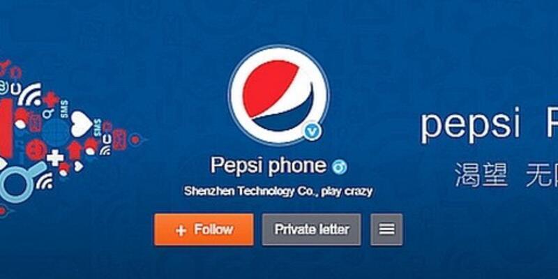 Pepsi'den ilginç bir haber geldi